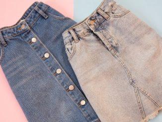 histoire de la jupe jupes en jean